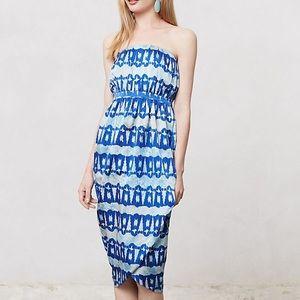 Anthropologie Cordelia Dress by Andree Delair Sz S